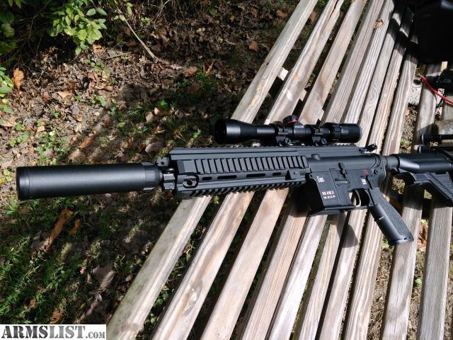 ARMSLIST - For Sale: HK 416 22lr with upgrades
