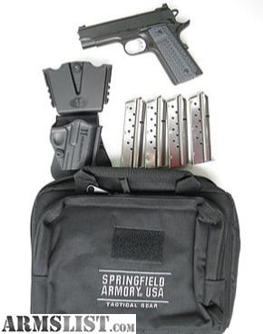 ARMSLIST - For Sale: Springfield Range Officer Elite Champion 9mm
