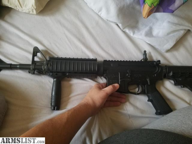 Armslist For Sale Colt Le6920 With Knights Armament