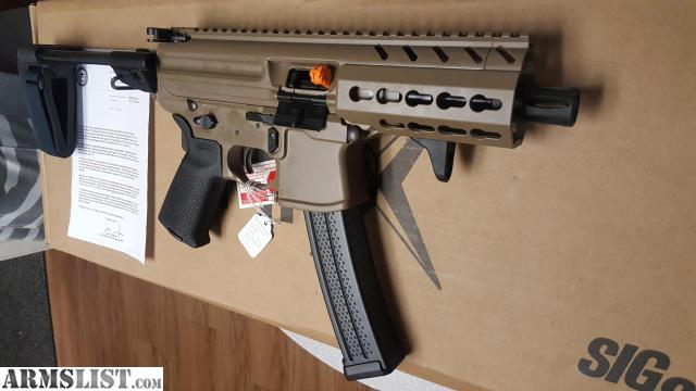 ARMSLIST - For Sale: MAP-CALL-SIG 9MM MPX-K-9-KM-PSB-FDE 4 5