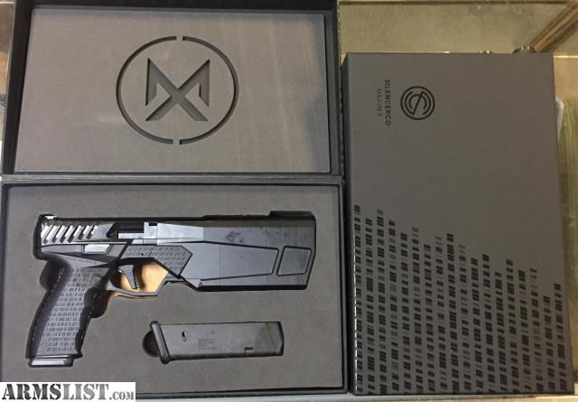 Armslist For Sale New Silencerco Maxim 9