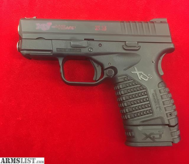 Armslist for sale xds 45 w gold barrel and 2 mags in for Golden nugget pawn jewelry holiday fl