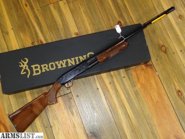 ARMSLIST - For Sale: Browning BPS Medallion 16ga Pump Shotgun