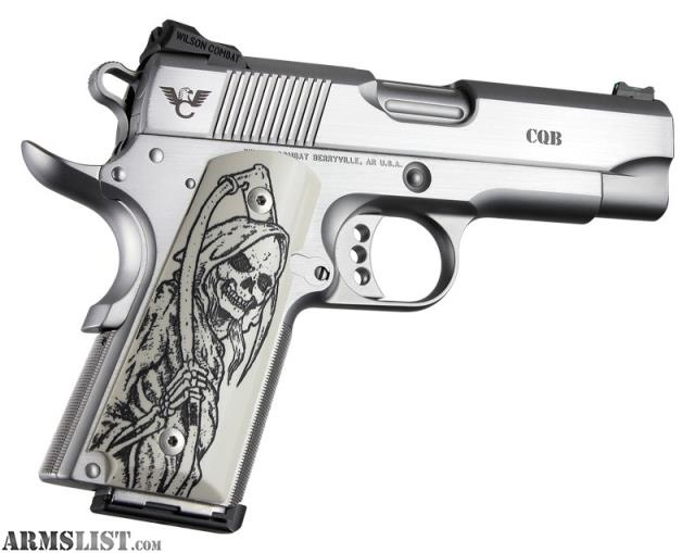 ARMSLIST - For Sale: NEW Hogue 1911 Grips 'Grim Reaper' in Ivory
