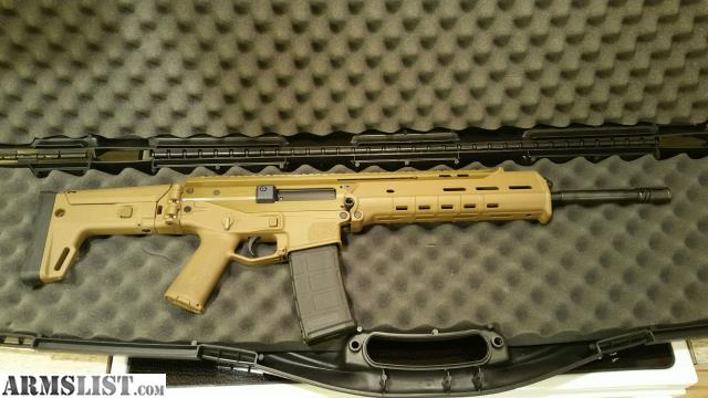 For Sale: Bushmaster ACR 5.56 In Coyote Tan