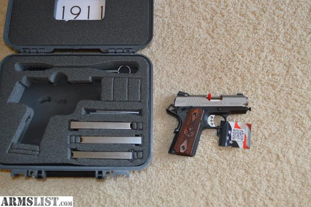 ARMSLIST - For Sale: Springfield EMP 9mm CA Compliant