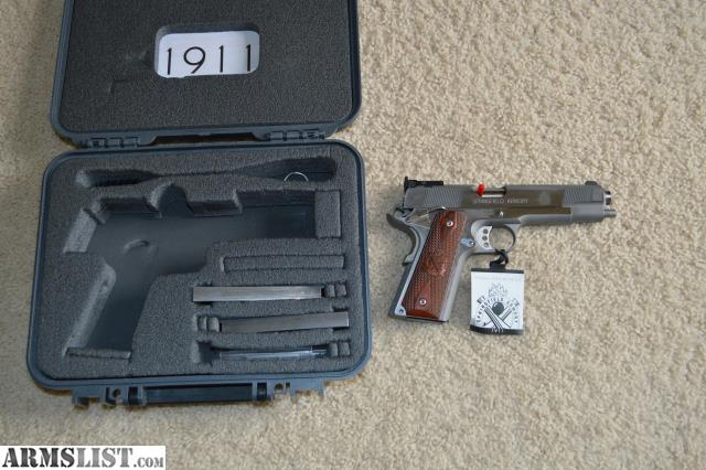ARMSLIST - For Sale: Springfield 1911 Target 9mm CA Compliant