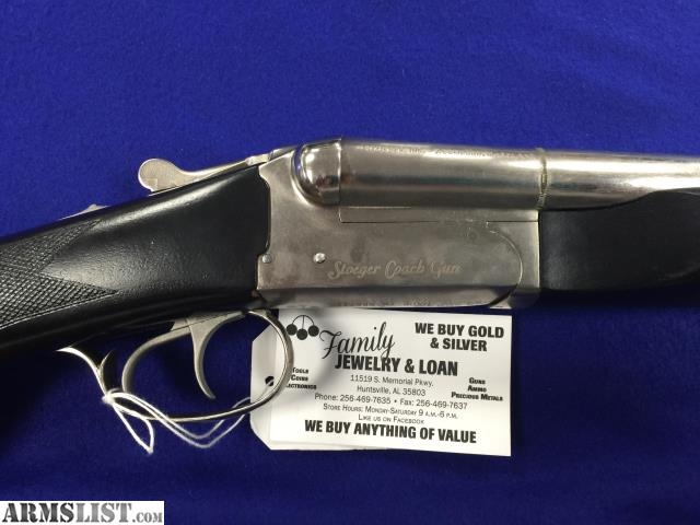 Armslist for sale stoeger coach gun stainless for Family jewelry and loan