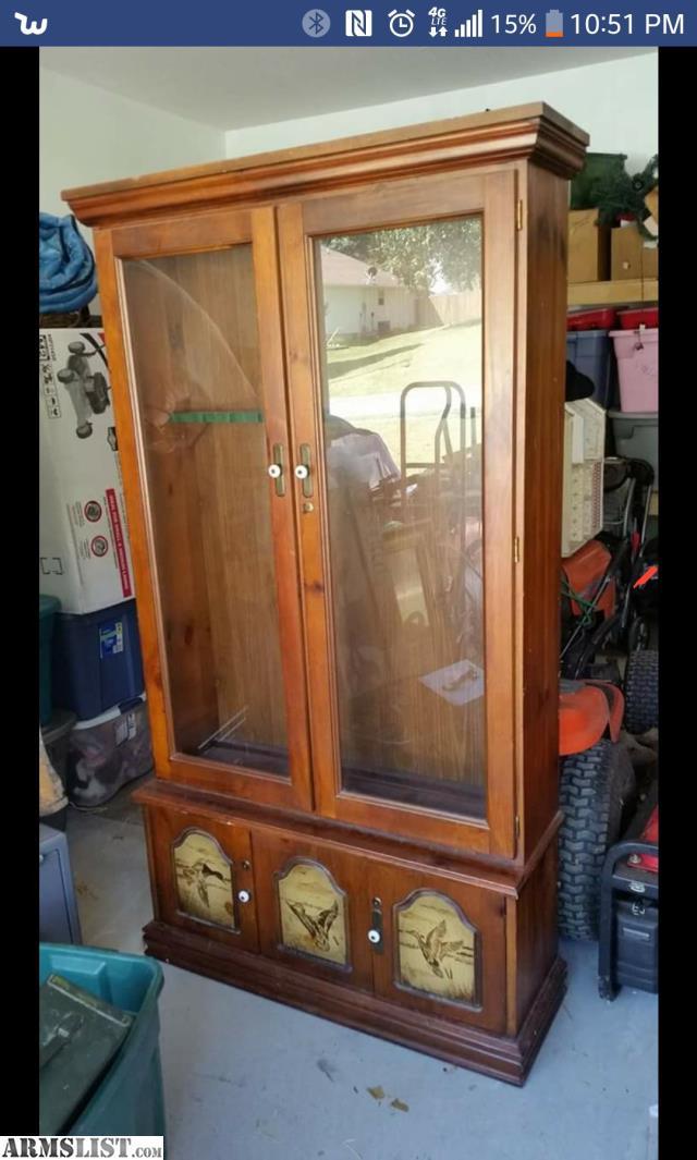 Awesome Armslist For Sale Antique Gun Cabinet Download Free Architecture Designs Scobabritishbridgeorg