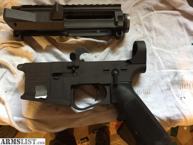 armslist for sale swat mfg billet receiver set. Black Bedroom Furniture Sets. Home Design Ideas