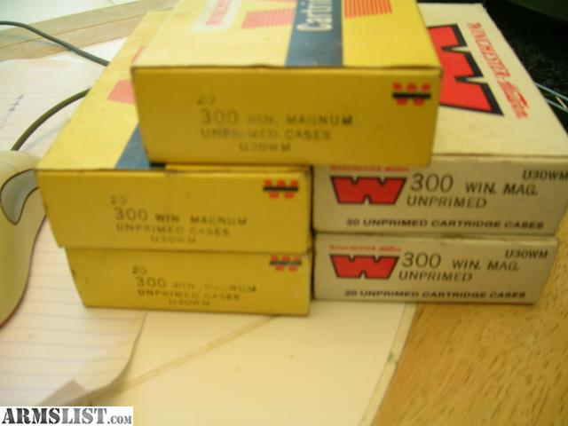 armslist for sale new 300 win mag winchester magnum brass