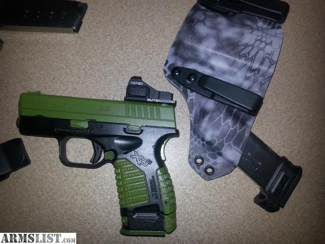 ARMSLIST - For Sale/Trade: Custom XDS