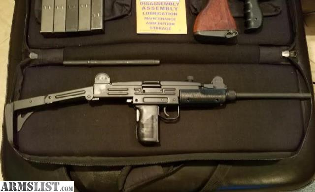ARMSLIST - For Sale/Trade: 9mm Uzi Carbine with extras