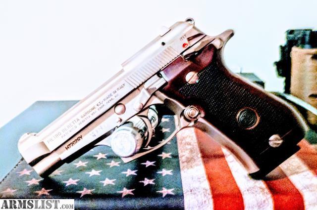 ARMSLIST - For Sale/Trade: Beretta 84FS Cheetah  380 Nickel, 13 round