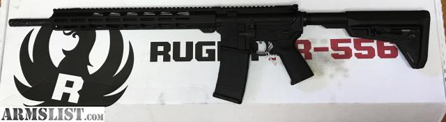 Armslist For Sale Ruger Ar556 Mpr