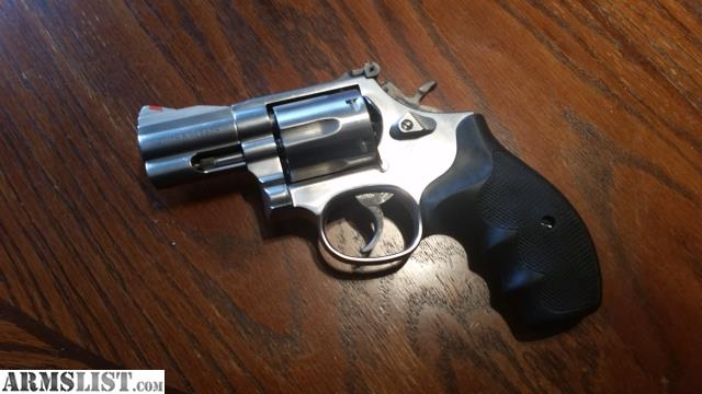This Is A Rare SW 686 4 Snub Nose Chambered In 357 Magnum One Excellent Condition And Looks To Be Very Rarely