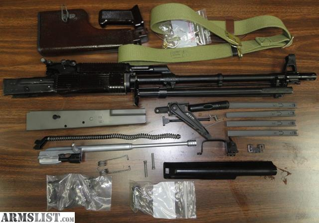 ARMSLIST - For Sale: Bulgarian RPK-74 kit and Nodak NDS-8