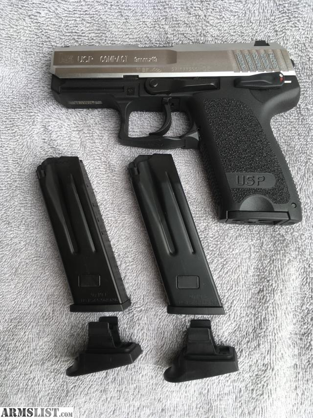 ARMSLIST - For Sale: HK USP Compact 9mm V1