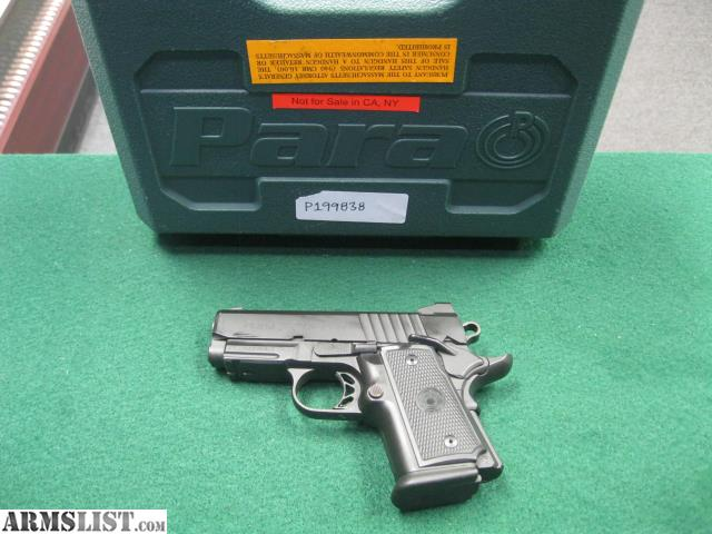 ARMSLIST - For Sale: Para Ordinance Lite Hawg 9 9mm ~w/ 2 Mags & Case~