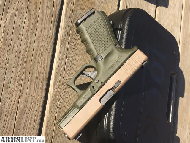 Glock 19 Green Frame Fde Slide   Framejdi org