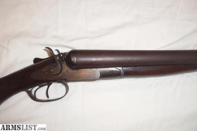 ARMSLIST - For Sale/Trade: 1885 L.C. Smith Double Barrel ... 10 Gauge Double Barrel Shotgun