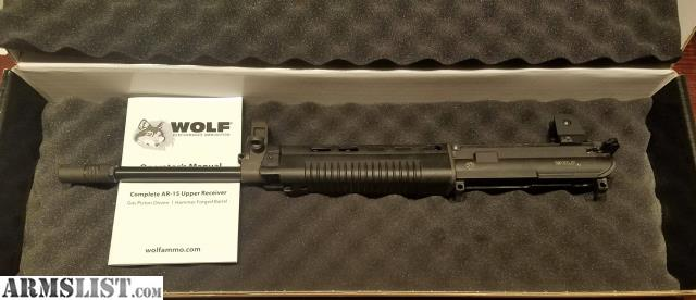 ARMSLIST - For Sale: Wolf A1 Piston Driven Upper With Daniel