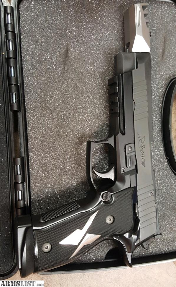 ARMSLIST - For Trade: Sig Sauer P226 X-FIVE X5E Special Ops 9mm