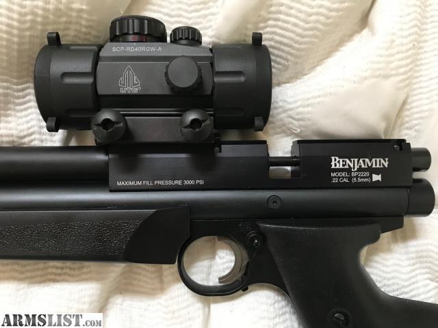 ARMSLIST - For Sale: Benjamin Marauder Pistol with Stock
