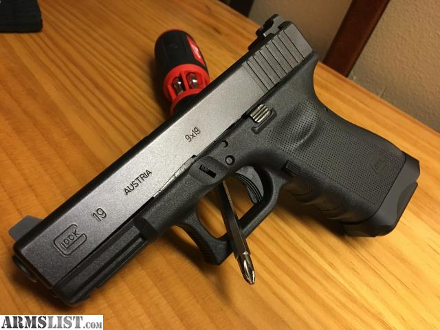 ARMSLIST For SaleTrade Glock 19 Rtf2 No Gills