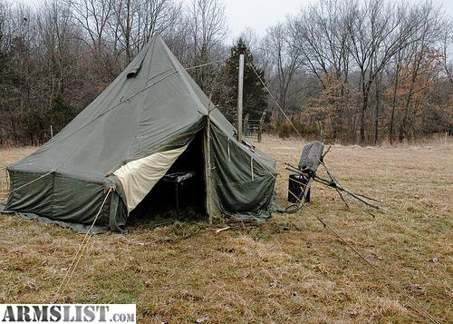 For Sale/Trade 5 Man Arctic Hex Tent W/ Wood burning stove : m1950 tent pole - afamca.org