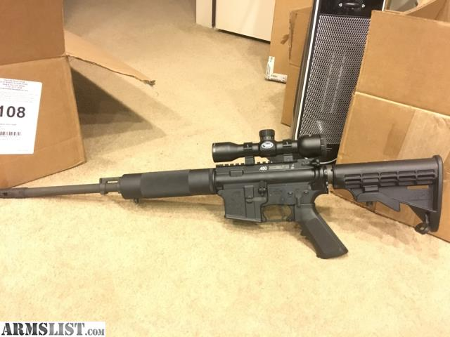 ARMSLIST - For Sale/Trade: 16 inch 450 Bushmaster AR-15 Rifle