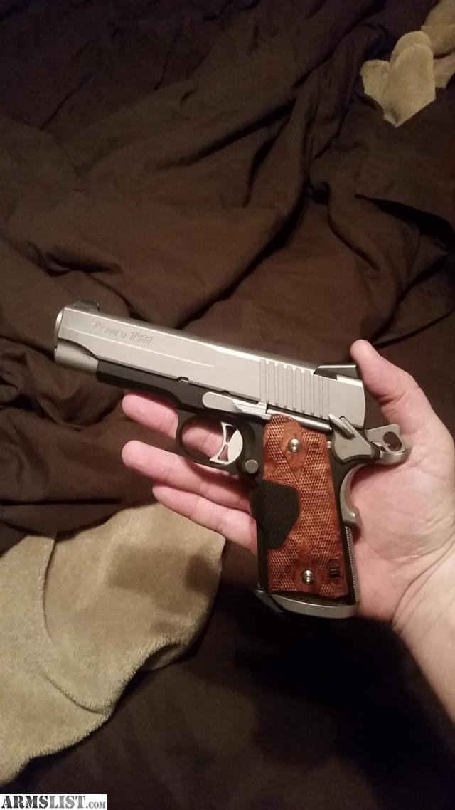 Armslist For Sale Sig Sauer C3 1911 With Crimson Trace And Night
