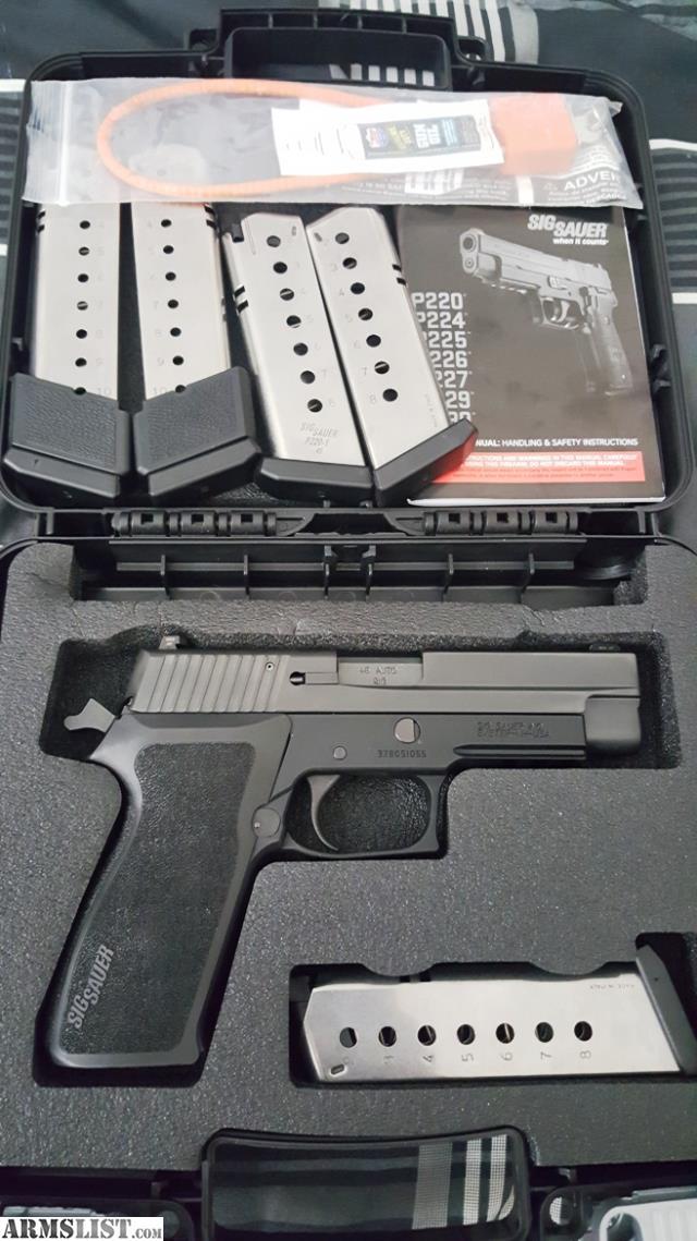Armslist For Sale Trade Sig Sauer P220 W Srt Kit E2