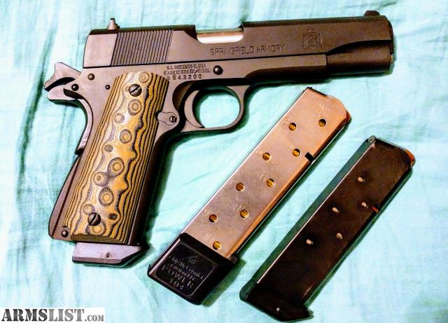 ARMSLIST - For Sale/Trade: Springfield Mil Spec 1911  45