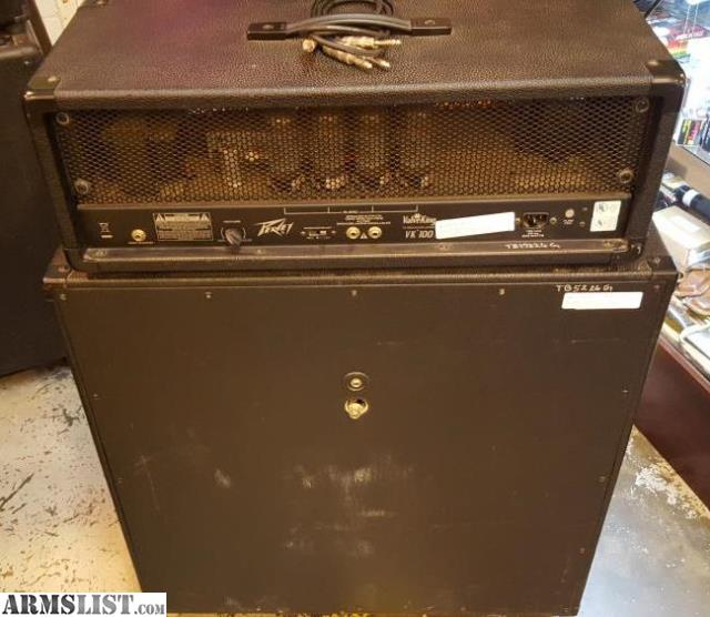 armslist for sale peavey valveking vk100 half stack. Black Bedroom Furniture Sets. Home Design Ideas