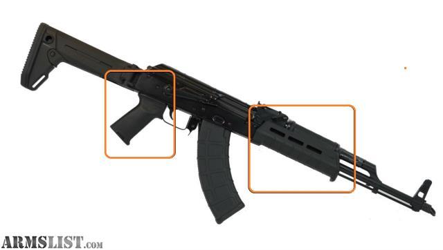 ARMSLIST - For Sale: AK-47 MAGPUL MOE Grip & Handguard +