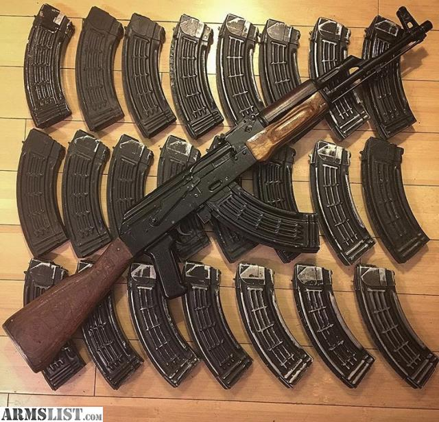 Armslist for saletrade egyptian ak47 for saletrade is egyptian maadi ak47 imported by aacintrac arm model not a cheap wasr or american made ak the egyptians bought russian machinery and thecheapjerseys Gallery