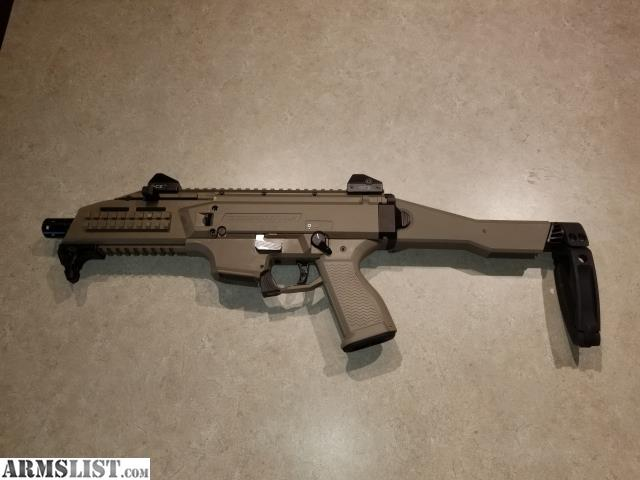 ARMSLIST - For Sale: FDE CZ Scorpion Tailhook and accessories