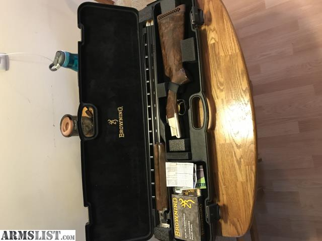 ARMSLIST - For Sale: Browning Citori 725 pro trap high rib