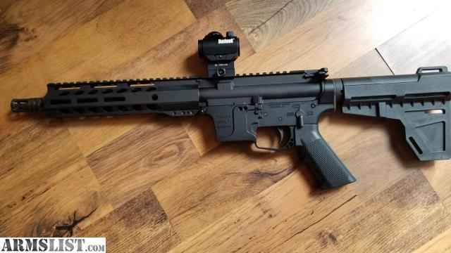 ARMSLIST - For Sale: 9mm AR Pistol