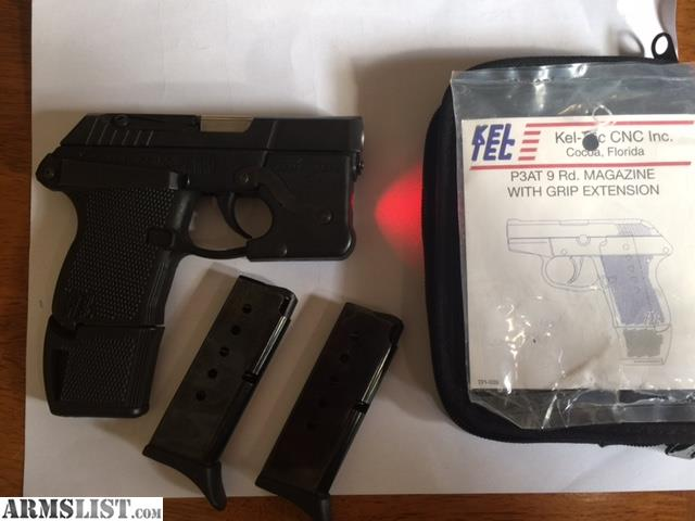 ARMSLIST - For Sale: Kel-Tec P3AT 380 W/ Armalaser