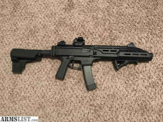 ARMSLIST - For Sale/Trade: CZ Scorpion Evo with many upgrades