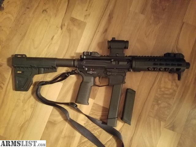 ARMSLIST - For Sale/Trade: AR-15 pistol 40 cal takes Glock mags