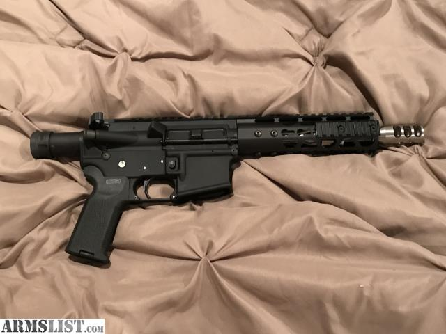 """ARMSLIST - For Sale/Trade: AR pistol only 20"""" long"""