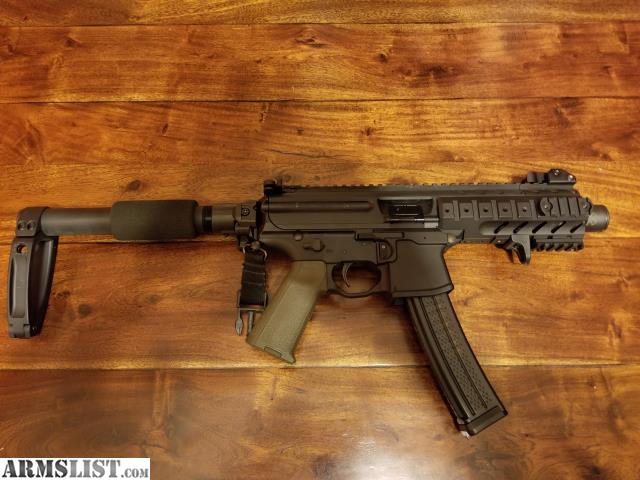 ARMSLIST - For Sale: Sig mpx K with folding brace 1400 OBO