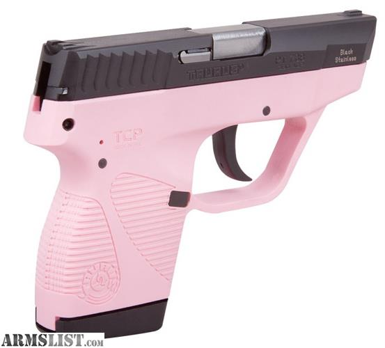 For Sale/Trade: WTT: Taurus TCP .380 PINK