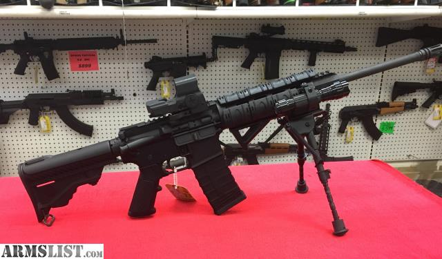 Armslist for sale dpms a 15 nato w extras 1 mags for Golden nugget pawn jewelry holiday fl