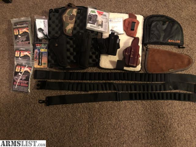 ARMSLIST - For Sale: Choke tube pistol cases/ holsters