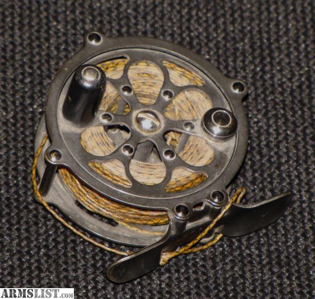 Armslist for sale vintage pflueger fly reel for Fly fishing reels for sale