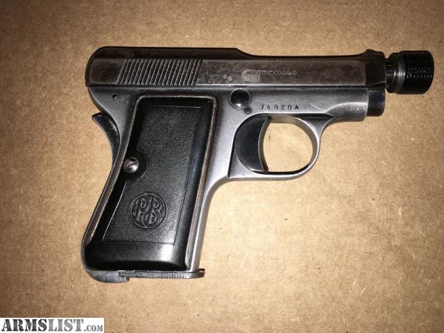 ARMSLIST - For Sale: Beretta 418  25 ACP